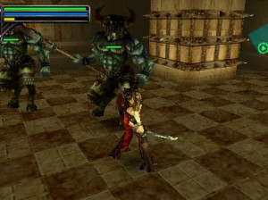 Warriors of the Lost Empire - PSP