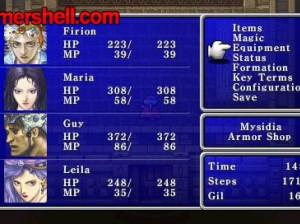 Final Fantasy II : Anniversary Edition - PSP