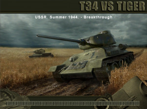WWII Battle Tanks: T-34 vs Tiger - PC