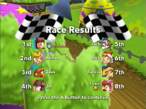 Myth Makers Super Kart GP - Wii