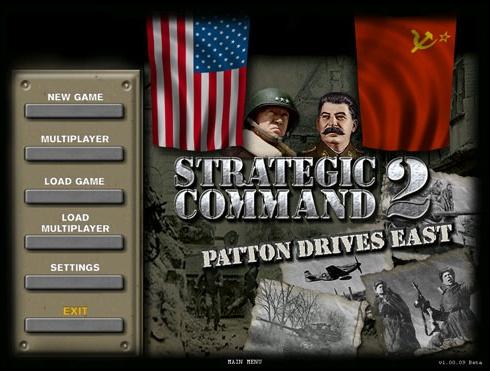 Strategic Command 2: Patton Drives East - PC