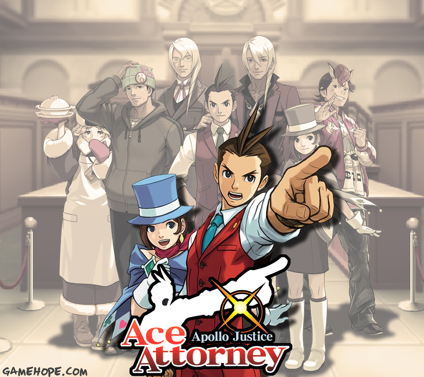 Ace Attorney : Apollo Justice - DS