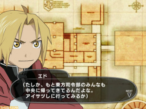 Fullmetal Alchemist : Prince of the Dawn - Wii