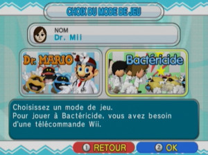 Dr. Mario & Bactericide - Wii