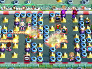 Wi-Fi 8 Battle Bomberman - Wii