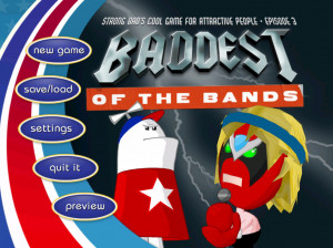 Strong Bad's Cool Game for Attractive People : Episode 3 : Baddest of the Bands - Wii