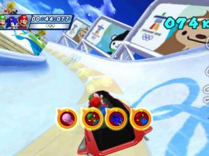 Mario & Sonic aux Jeux Olympiques d'Hiver - Wii